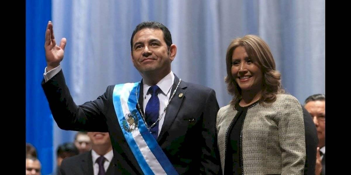 Los cambios de la Primera Dama durante la presidencia de Jimmy Morales