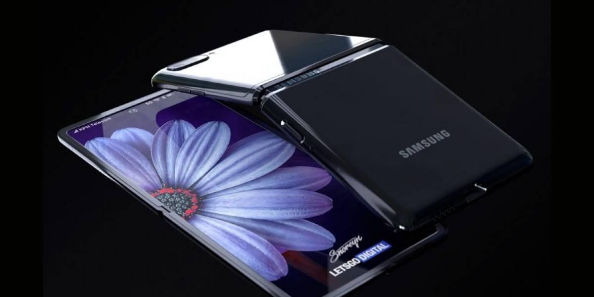 Galaxy Z Flip: renders muestran en detalle cómo será el nuevo celular plegable
