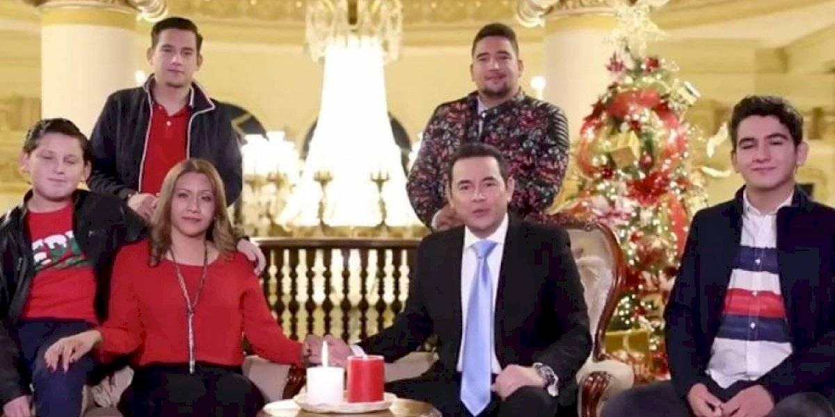 ¿Qué pasó con los hijos del presidente Jimmy Morales?