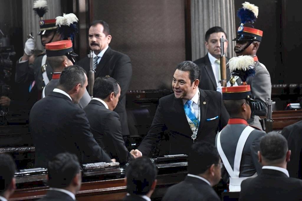 Jimmy Morales, Congreso