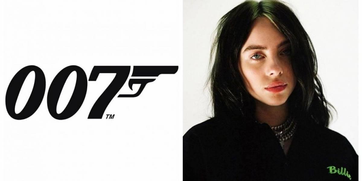 Billie Eilish gravará música-tema do próximo 007