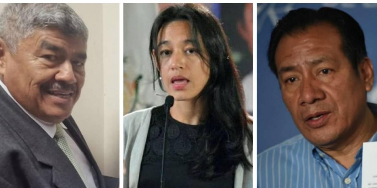 CC: Lucrecia Hernández, Diego González y Carlos Mencos pueden asumir su curul