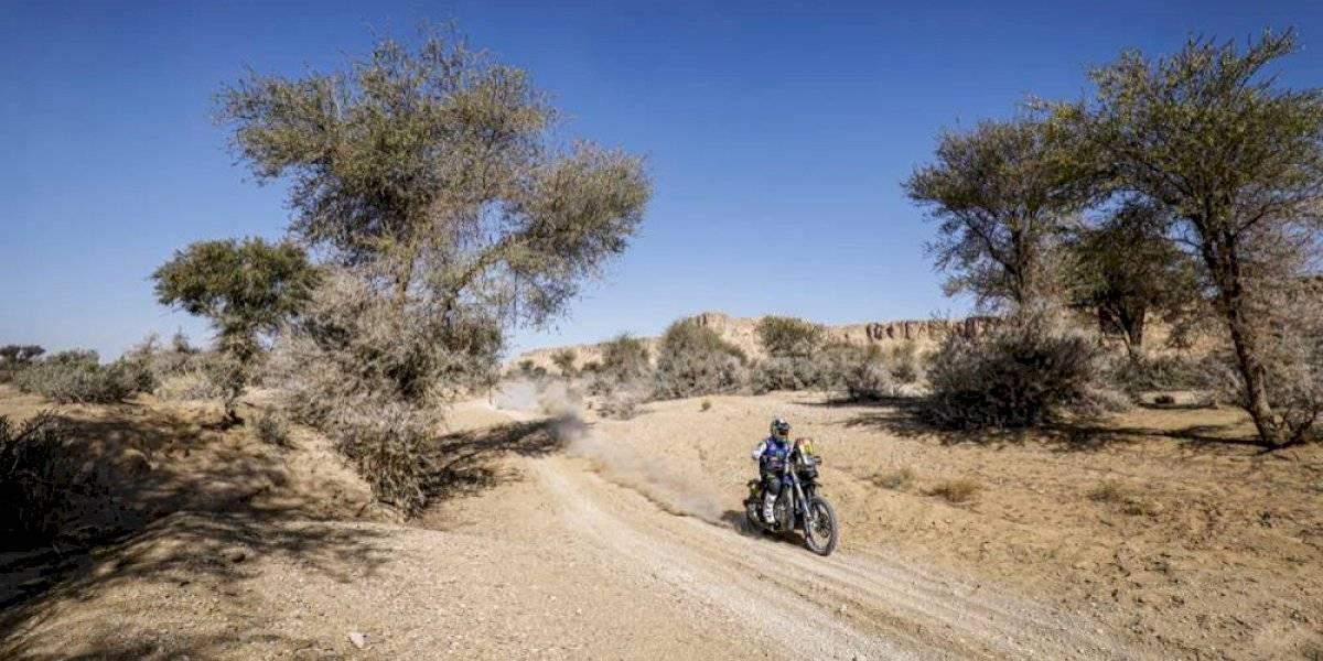 Francisco Arredondo brilla en la novena etapa del Rally Dakar