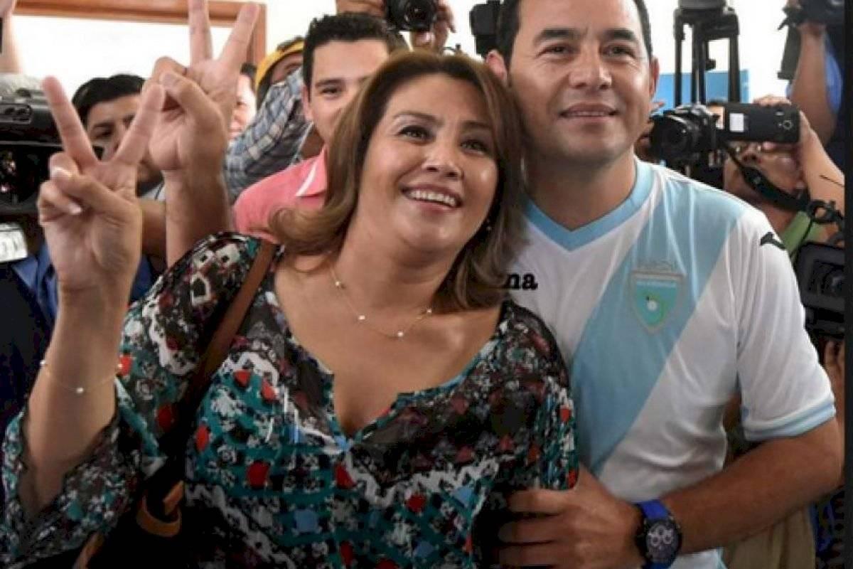Patricia de Morales antes