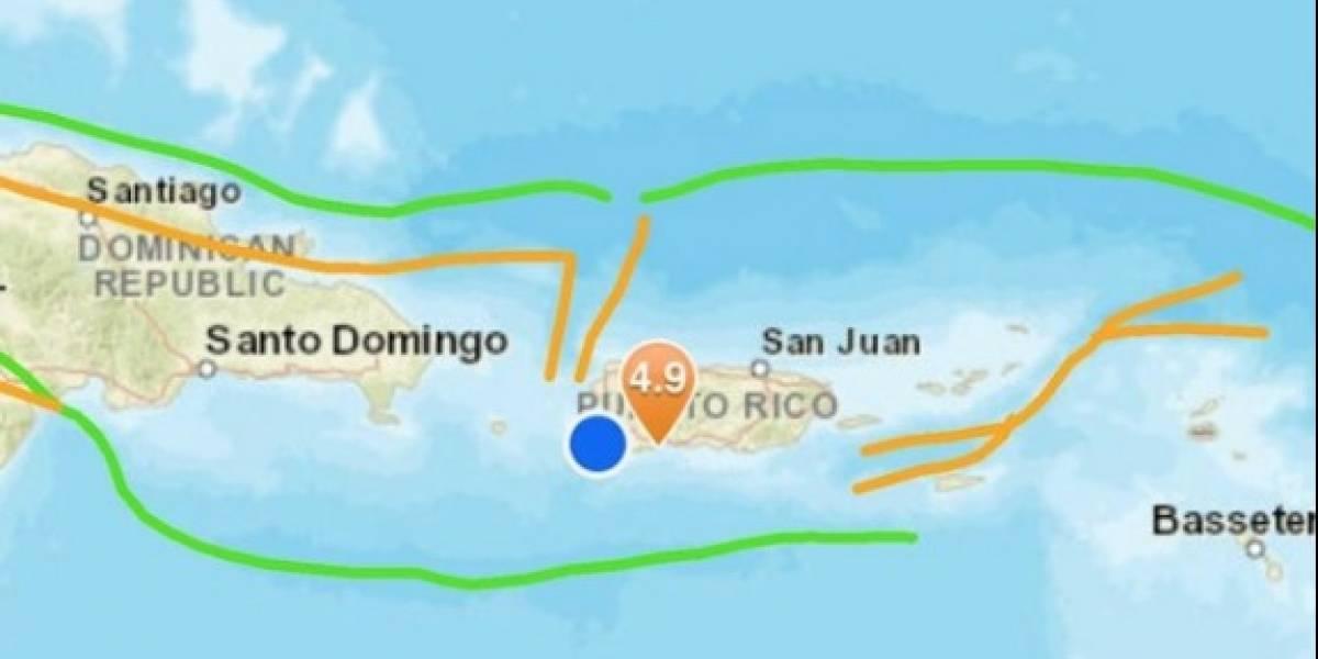 Se vuelve a registrar otro fuerte temblor al sur de Puerto Rico