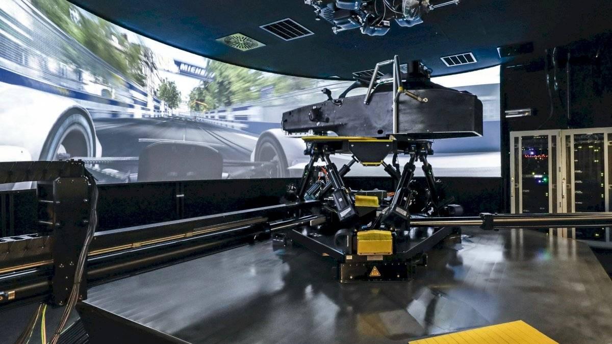 simulador de Porsche para Fórmula E