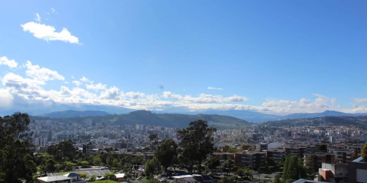 Los sectores de Quito con mayor radiación este 16 de enero de 2020