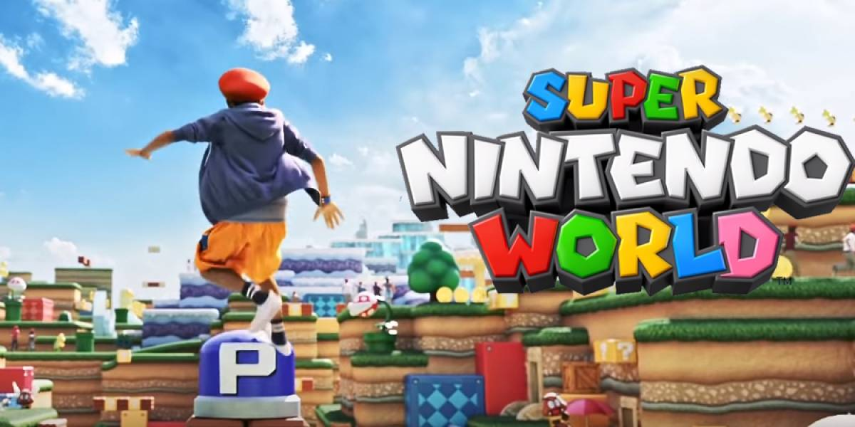 Super Nintendo World: brutal video muestra cómo será el parque de diversiones