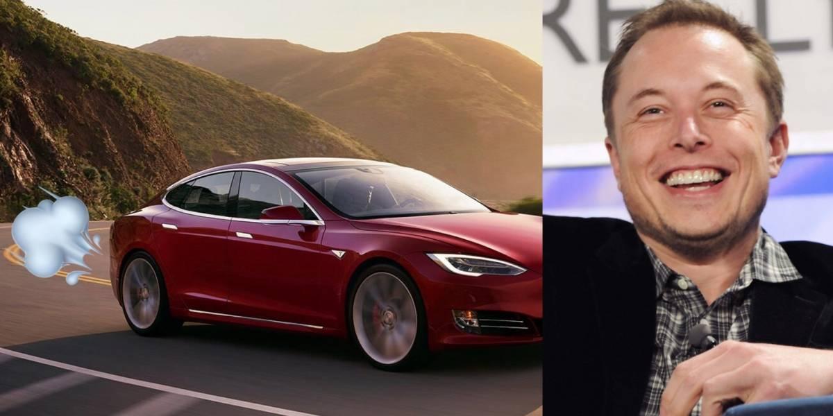 Autos de Tesla pronto hablarán con los peatones... y se echarán gases, bromea Elon Musk