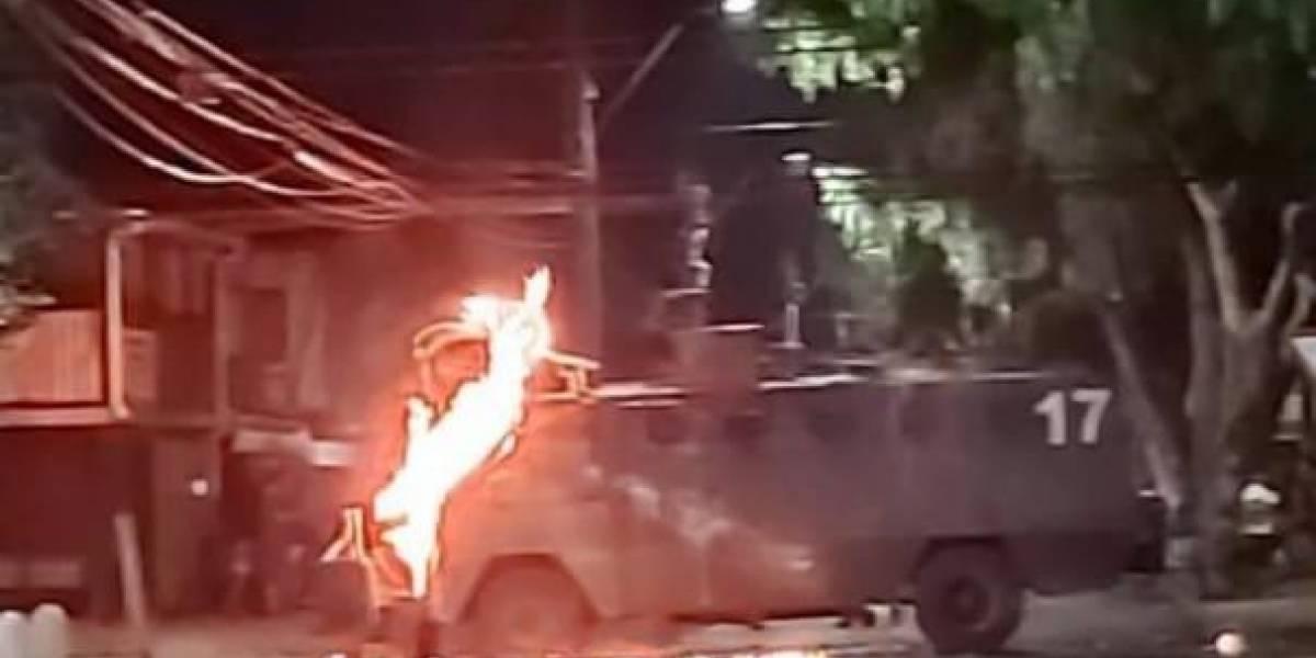 Comisaría de Renca blanco de piedrazos: Ha sido atacada 20 veces en los últimos dos meses