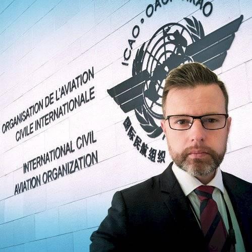 William Raillant-Clark, Oficial de Comunicaciones, Organización de Aviación Civil Internacional (OACI)