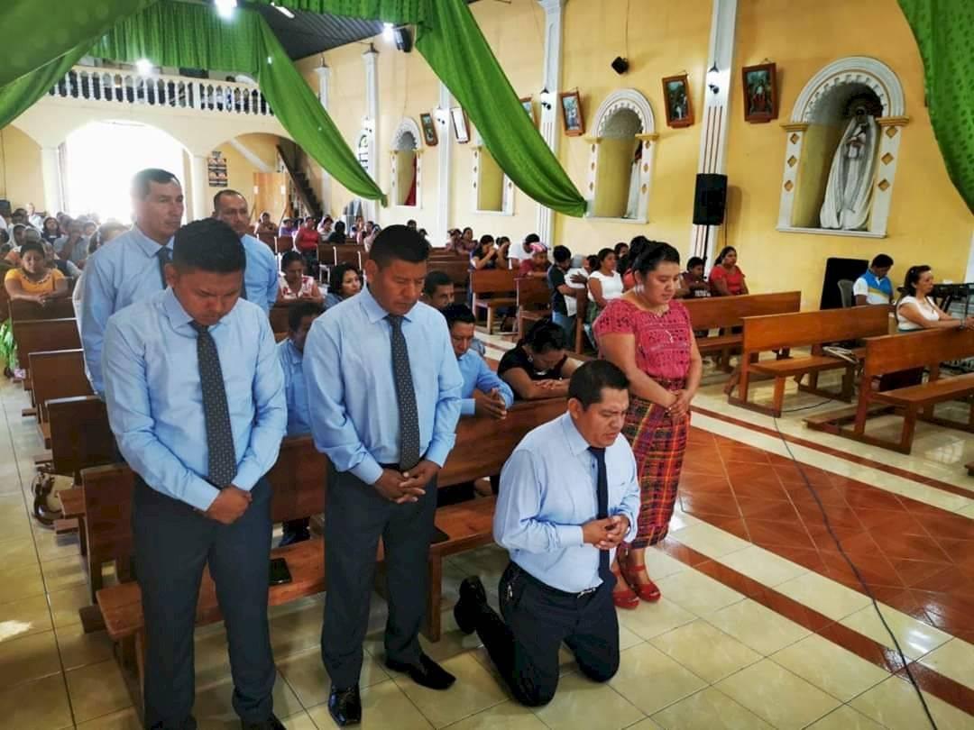 Servicio religioso por toma de posesión en Suchitepéquez
