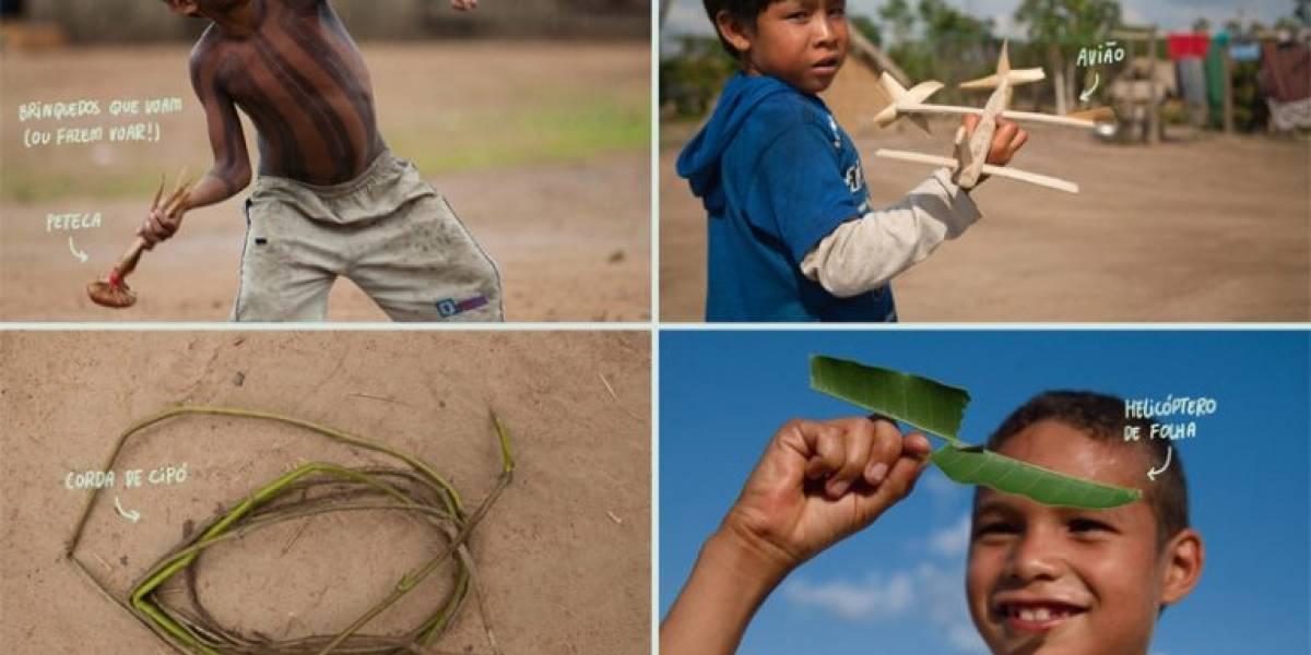 Livro mostra como crianças brincam ao redor do Brasil