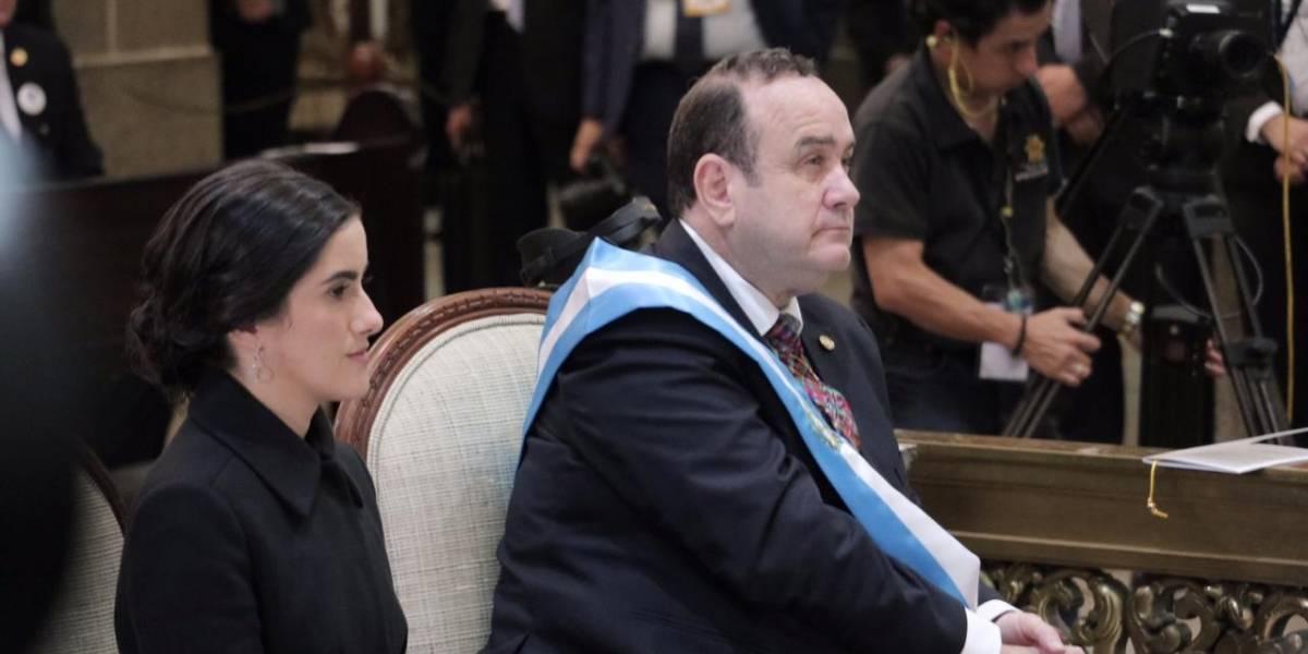 Giammattei acuerda Convenio de cooperación anticorrupción