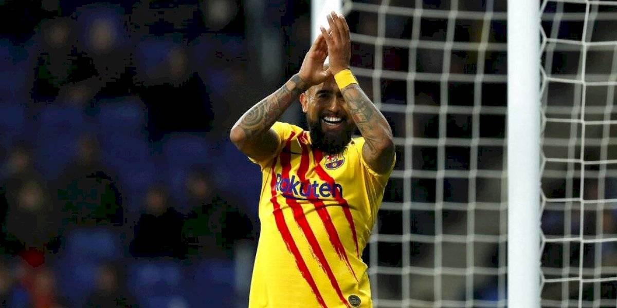 Decisión tomada: El nuevo DT de Barcelona definió que Arturo Vidal no se moverá del Camp Nou