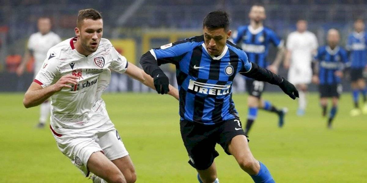 """La sinceridad de Antonio Conte en el Inter: """"Llevará algún tiempo ver al verdadero Alexis"""""""
