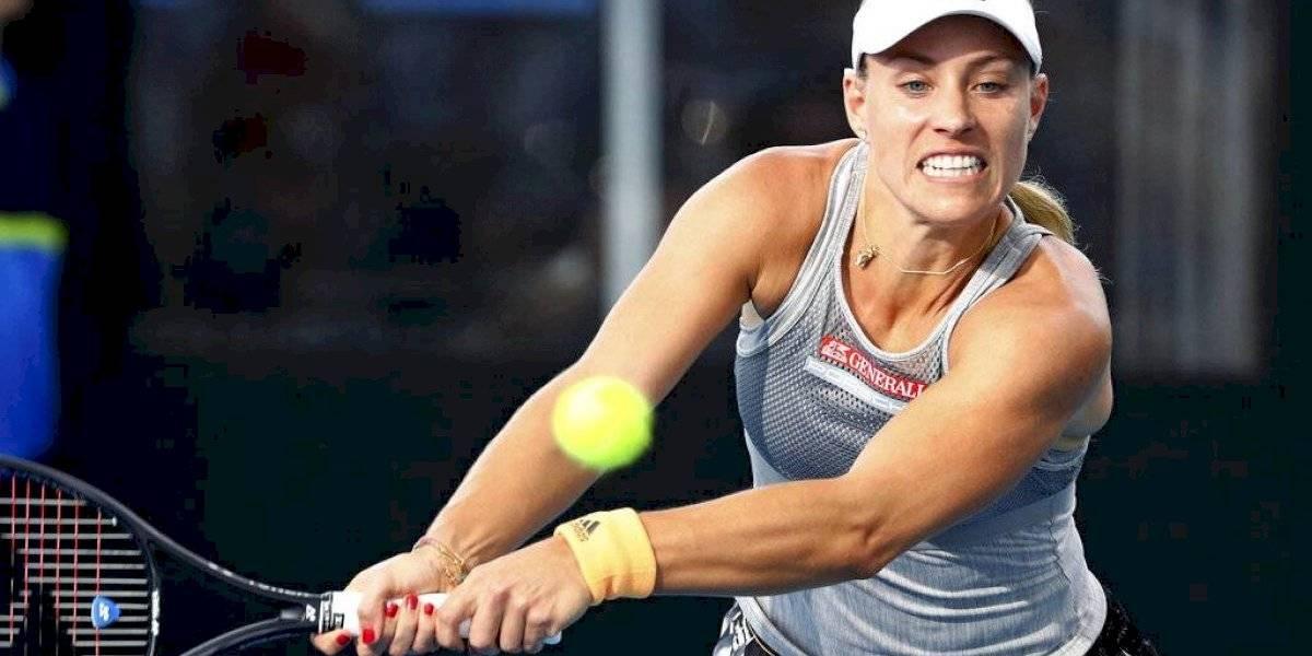 Angelique Kerber queda fuera del torneo de Adelaida