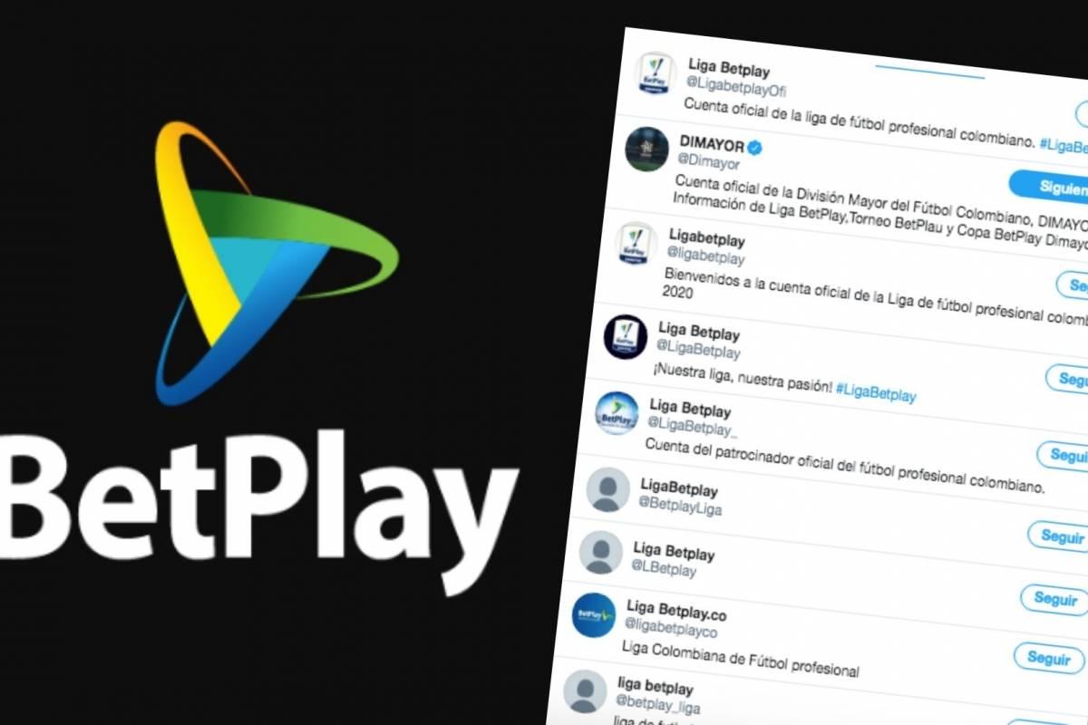 Futbol Colombiano Informan Que Aun No Hay Cuentas Oficiales De Liga Betplay En Twitter Y Que Hay Perfiles Falsos Betplay Dimayor Liga Betplay 2020 Redes Sociales Oficiales Liga Betplay