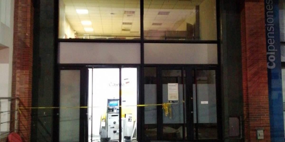 Destruyen con explosivos cajero automático en el sur de Cali