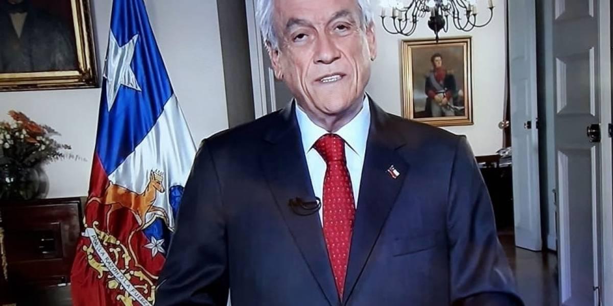 Presidente Piñera presenta agenda previsional : Habrá cambios en el sistema AFP