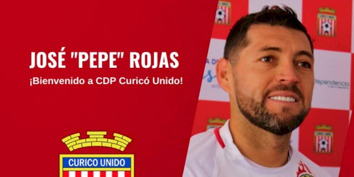 José Rojas no concretó su retorno a la U y es el nuevo refuerzo de Curicó Unido