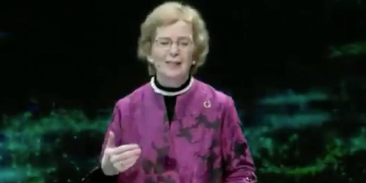 """Mary Robinson, la primera presidenta en la historia de Irlanda: """"Me impacta la privatización del agua en Chile, es algo difícil de comprender"""""""