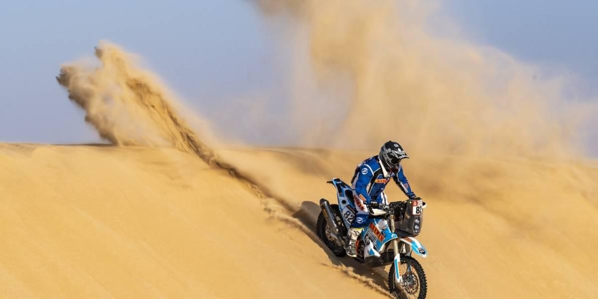 Francisco Arredondo logra un nuevo ascenso en el Dakar 2020