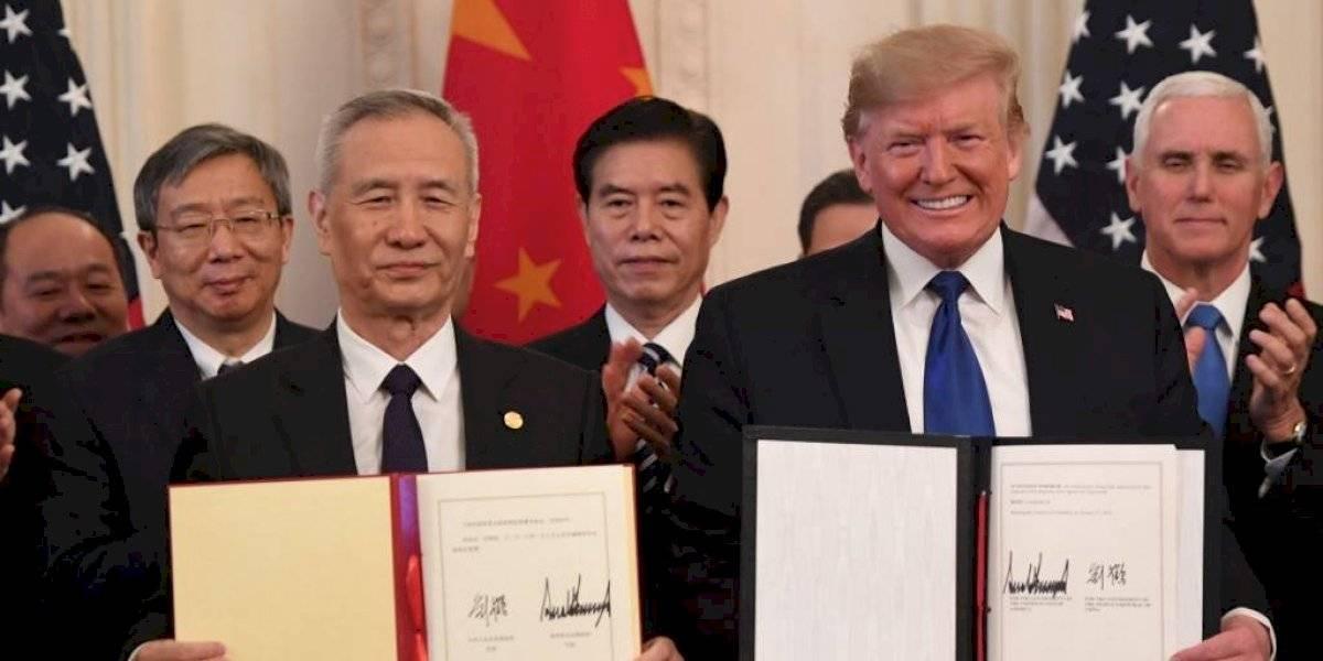 Estados Unidos y China firman importante acuerdo comercial