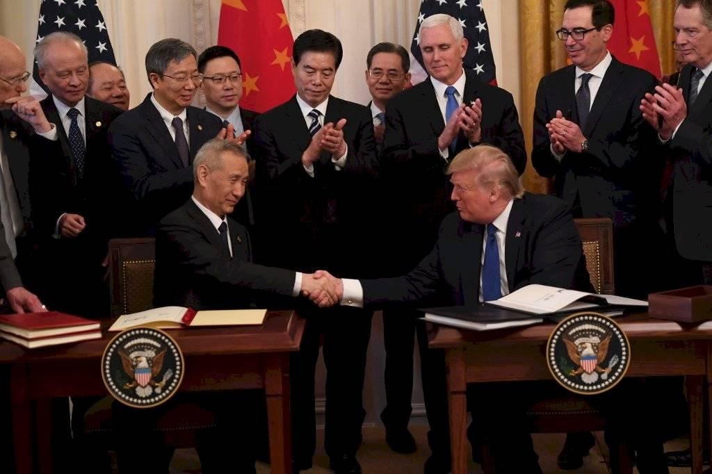 Acuerdo comercial entre Estados Unidos y China