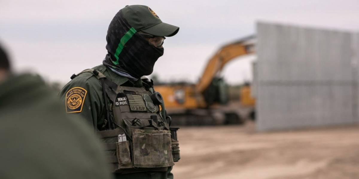 Estados Unidos acelera construcción del muro fronterizo