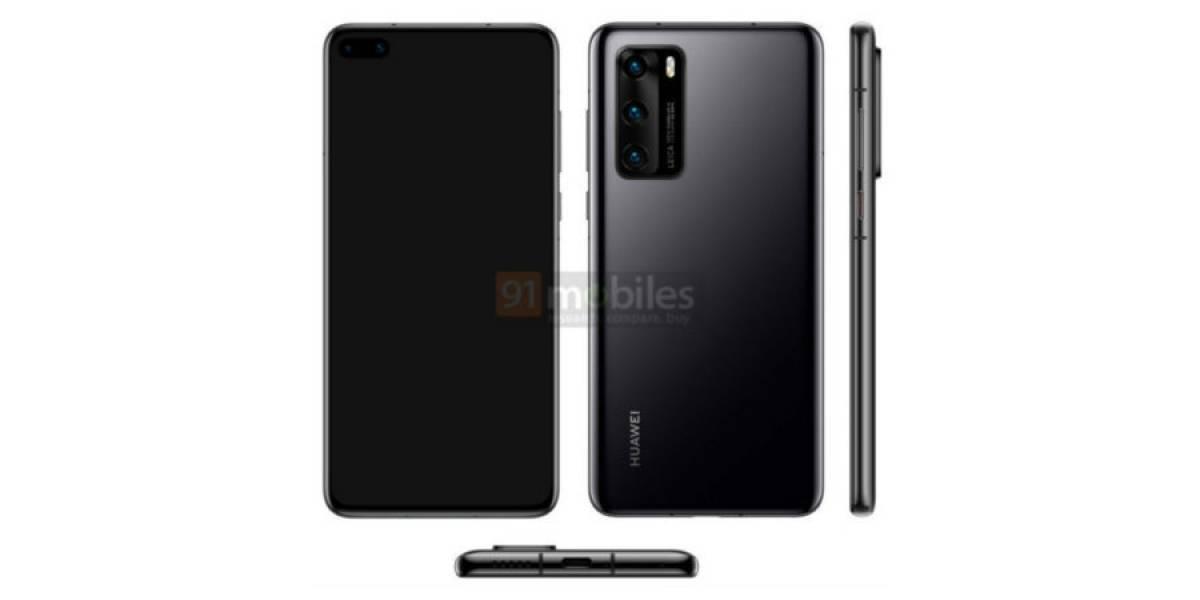 Huawei P40 con Android 10 pero sin servicios de Google