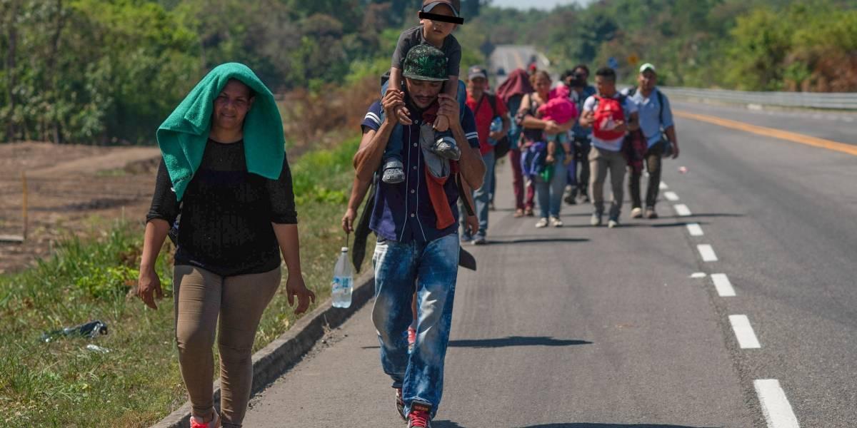 Sale de Honduras nueva caravana migrante hacia Estados Unidos