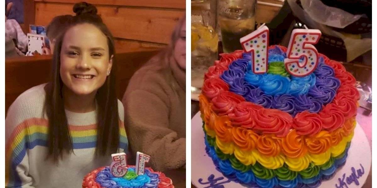 """""""Demuestra una postura moral contraria a nuestras creencias"""": escuela cristiana expulsa a estudiante por celebrar su cumpleaños con los colores del arcoíris"""