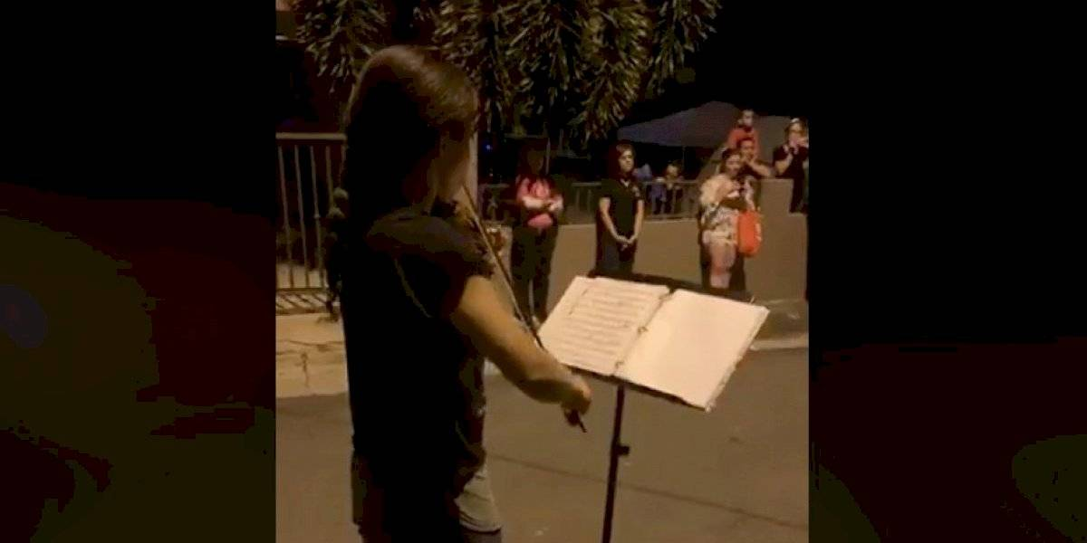 Orquesta Sinfónica de Puerto Rico realiza pequeña presentación en Guayanilla