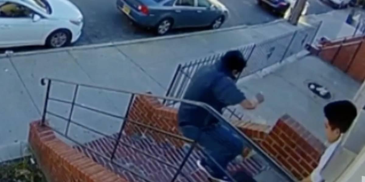 Ecuatoriano murió al ser empujado mientras cobraba la renta en Queens