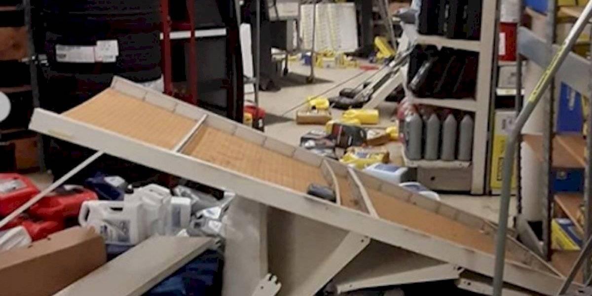 Tienda en Yauco sufre daños tras sismo de 6.4 grados