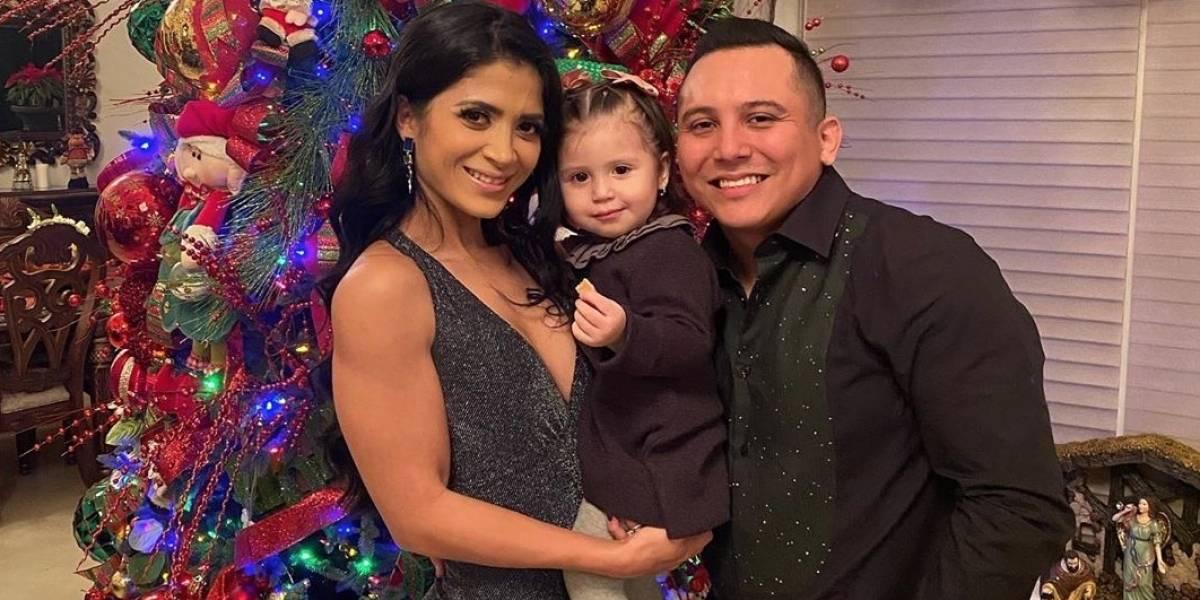 Video: Así fue el ostentoso bautizo de la hija de Edwin Luna y Kimberly Flores