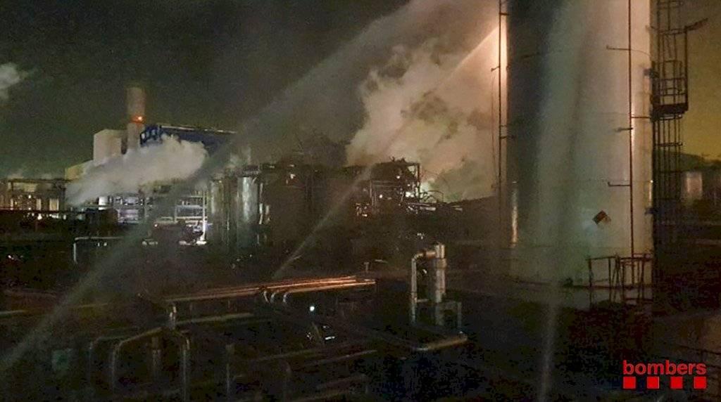 Explosión en Tarragona