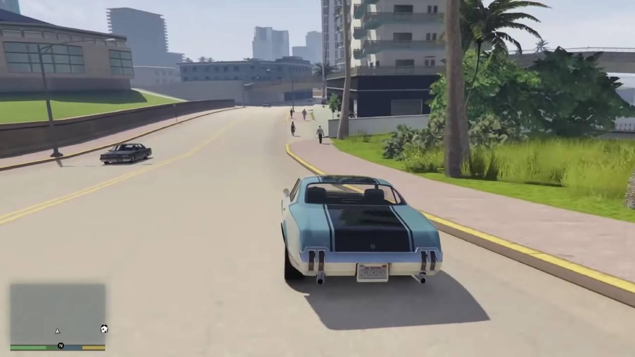 Grand Theft Auto V Vice City