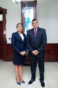 Gloria Verna Guillermo Lemus, Secretaria General de la Vicepresidencia.
