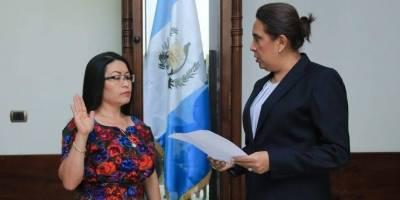 Jutamentación de Mirna Griselda González Navichoc, Secretaria Privada.