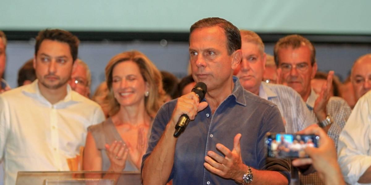 Doria quer retomar obras do Rodoanel Norte e do Metrô até o fim de julho