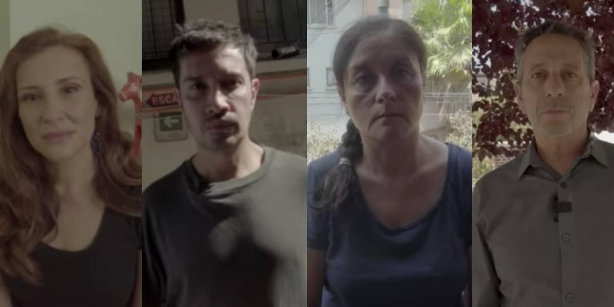 """""""Cuál es tu problema"""": más de una decena de actores y artistas se unieron para emplazar a la ministra Cubillos por su persecución a estudiantes secundarios"""