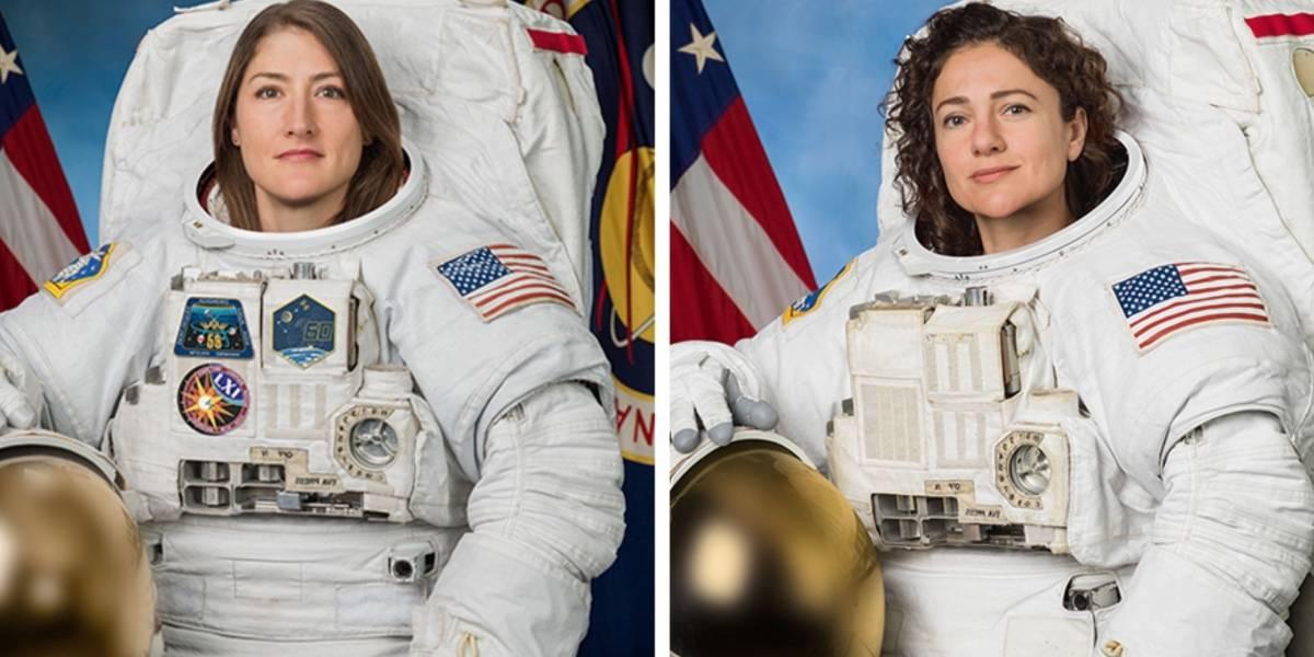 NASA promove nova caminhada espacial realizada totalmente por mulheres