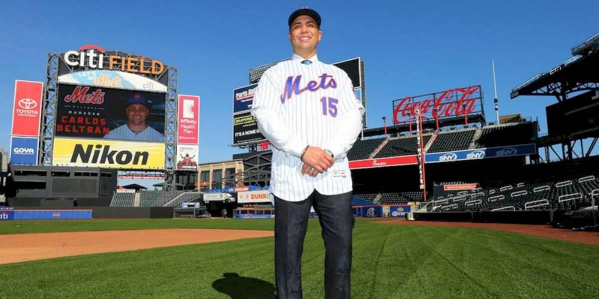 Mets despiden a Carlos Beltrán, también involucrado en el robo de señales