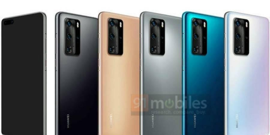 Una filtración inesperada muestra la gama de colores en los que saldrá al mercado el Huawei P40. Algunas cosas no cambian para esta compañía.