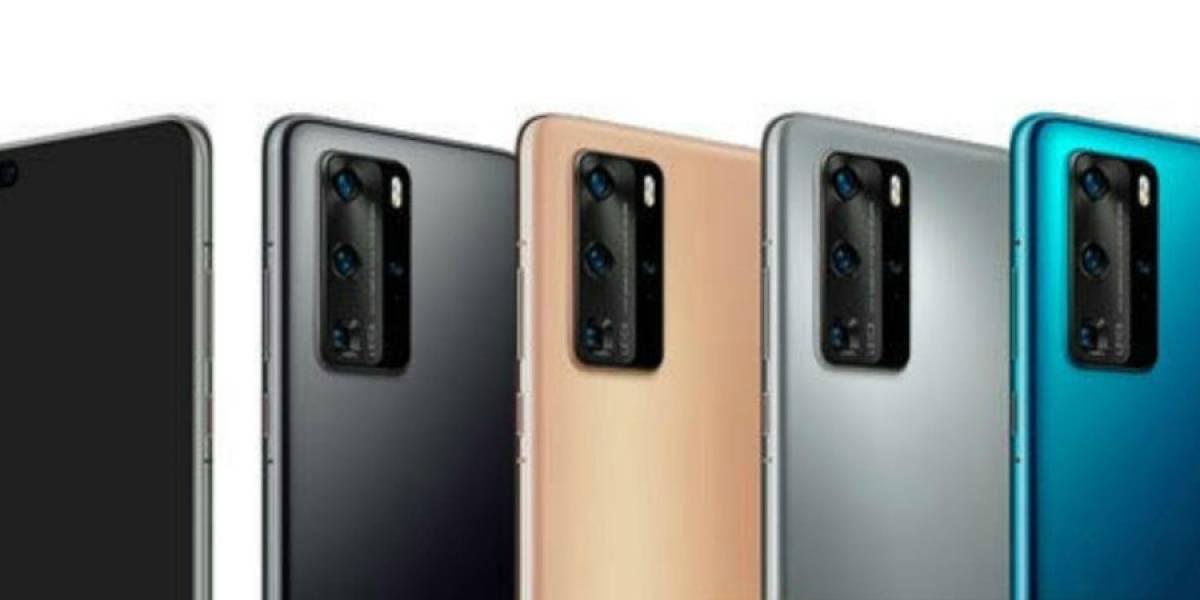 Huawei P40 muestra sus familiares colores en nueva filtración