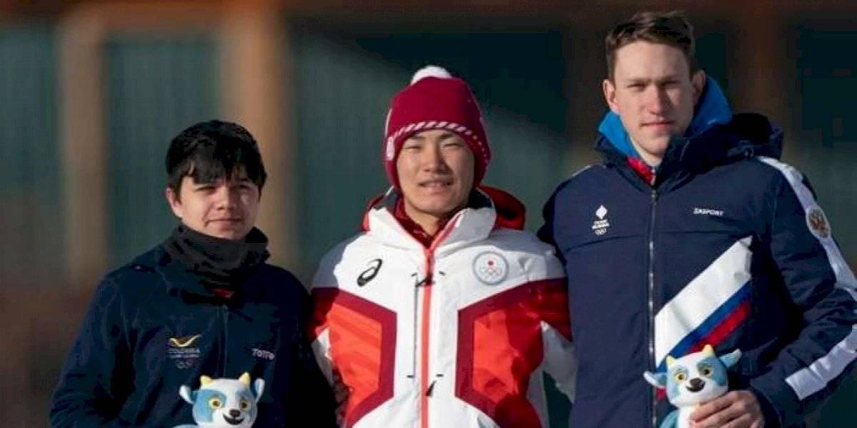 ¡Rompió el hielo! Colombia consigue medalla en Juegos Olímpicos de Invierno la Juventud
