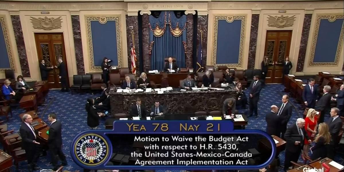 Senado de Estados Unidos aprueba T-MEC