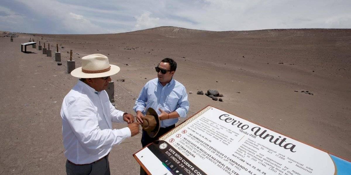 """Gobierno declara Bien Nacional Protegido al """"Gigante de Atacama"""""""